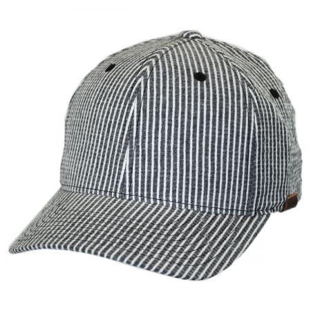 Leather Baseball Cap at Village Hat Shop 5eca24a6fc7