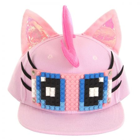 Pinkie Pie Bricky Blocks Snapback Baseball Cap alternate view 1