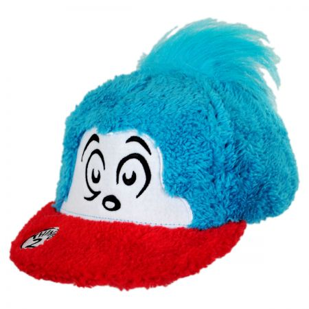 Dr. Seuss Thing 2 Fuzzy Baseball Cap