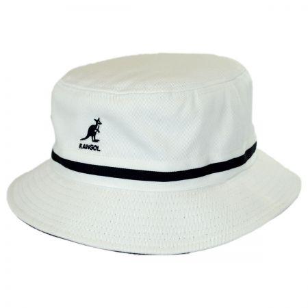 Kangol Stripe Lahinch Cotton Bucket Hat