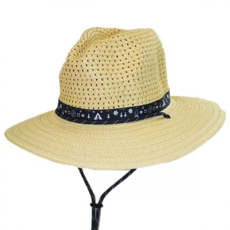 Bella Falls Toyo Straw Lifeguard Hat alternate view 9