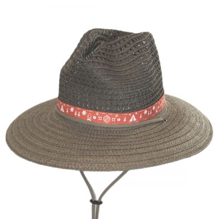 Bella Falls Toyo Straw Lifeguard Hat alternate view 5