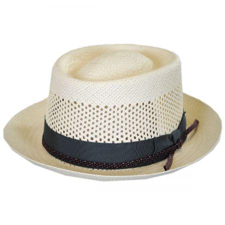 Twofer Panama Straw Pork Pie Hat
