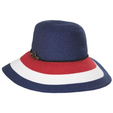 Anchor Trim Toyo Straw Down Brim Hat alternate view 5