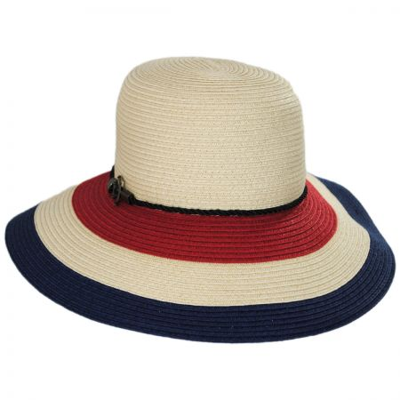 Callanan Hats Anchor Trim Toyo Straw Down Brim Hat