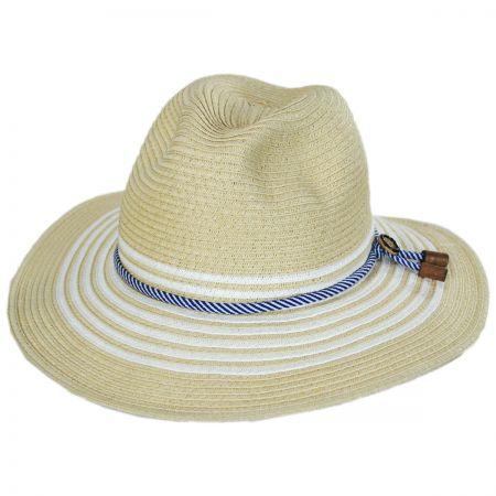 Rope Band Toyo Straw Fedora Hat alternate view 5