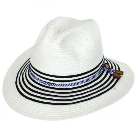 Rope Band Toyo Straw Fedora Hat alternate view 9