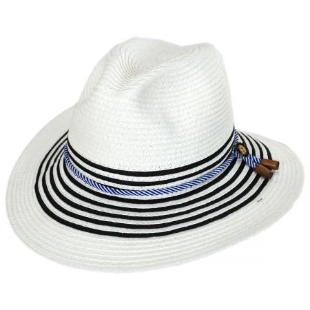 Callanan Hats - Rope Band Toyo Straw Fedora Hat