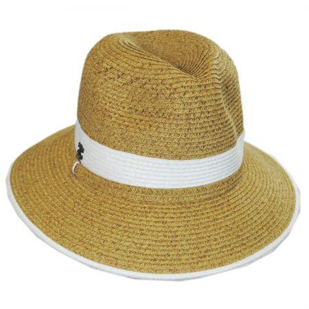 Callanan Hats Nantucket Toyo Straw Fedora Hat