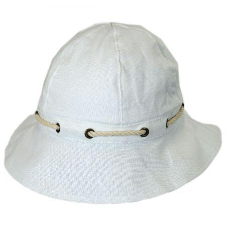 Marina Cotton Cloche Hat alternate view 9