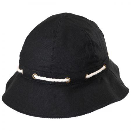 Callanan Hats Marina Cotton Cloche Hat
