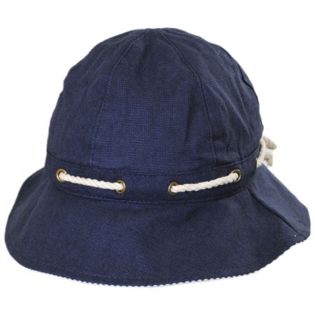 675bf5aede8 Navy Cloche at Village Hat Shop