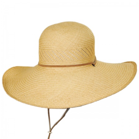 Tucson Traveler Panama Straw Sun Hat