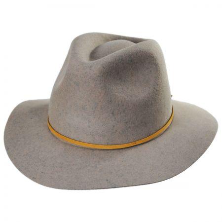 Wesley Wool Felt Floppy Fedora Hat alternate view 104