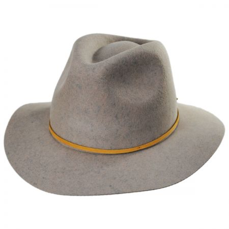 Wesley Wool Felt Floppy Fedora Hat alternate view 133