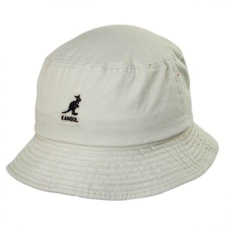 Kangol Washed Cotton Bucket Hat