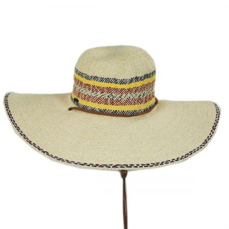 Scala Palapa Toyo Straw Beach Hat