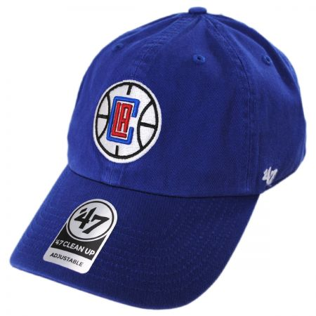 One Size Red NBA Los Angeles Clippers Adult NBA 47 Clean Up Adjustable Hat