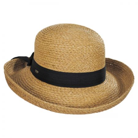 Raffia Straw Braid Breton Hat alternate view 2