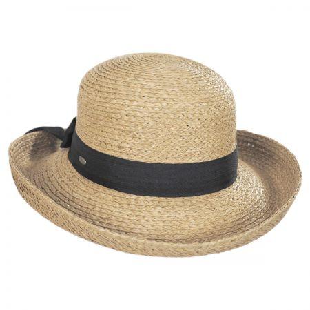 Raffia Straw Braid Breton Hat alternate view 1