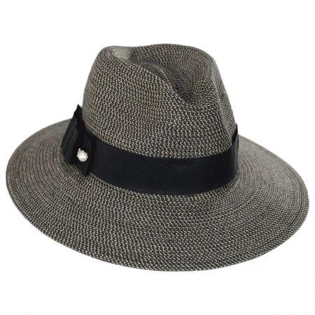 Betmar Ellery Toyo Straw Fedora Hat