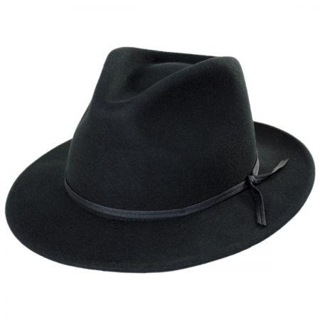 Brixton Hats Coleman Wool Felt Fedora Hat
