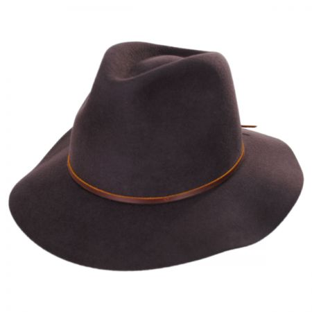 Wesley Wool Felt Floppy Fedora Hat alternate view 100