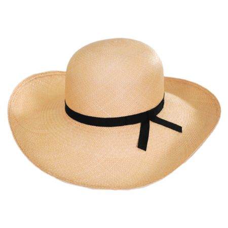 Madeline Panama Straw Swinger Hat alternate view 1
