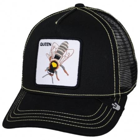 Goorin Bros Queen Bee Mesh Trucker Snapback Baseball Cap