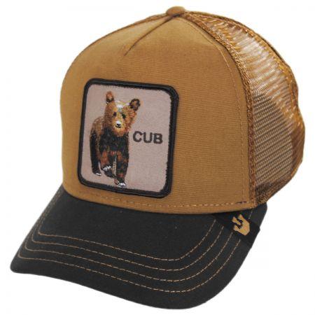 Cub Mesh Trucker Snapback Baseball Cap alternate view 1