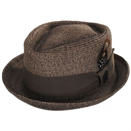 55a1c3ca457553 Straw Trilby at Village Hat Shop