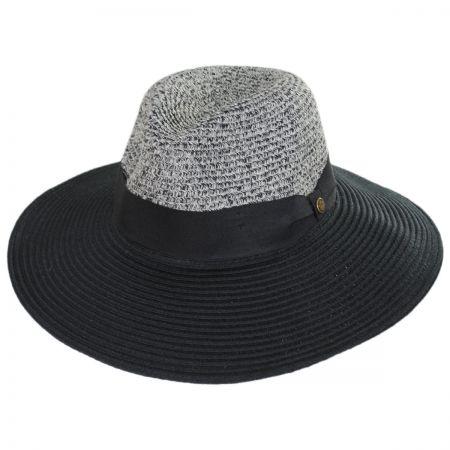 4da5bc5df5a28 Mamacita Straw Wide Brim Fedora Hat