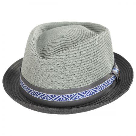 d9613de1217af Goorin Bros World Class Toyo Straw Diamond Crown Fedora Hat