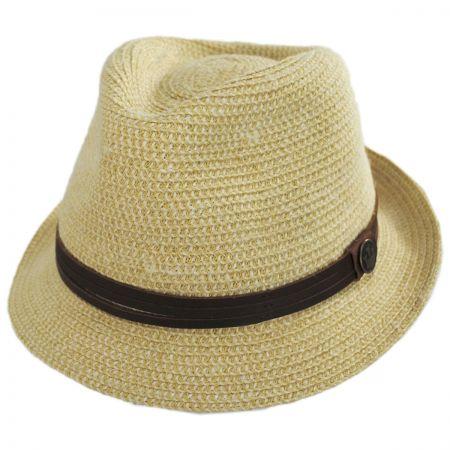 Laying Low Hemp and Cotton Fedora Hat alternate view 5