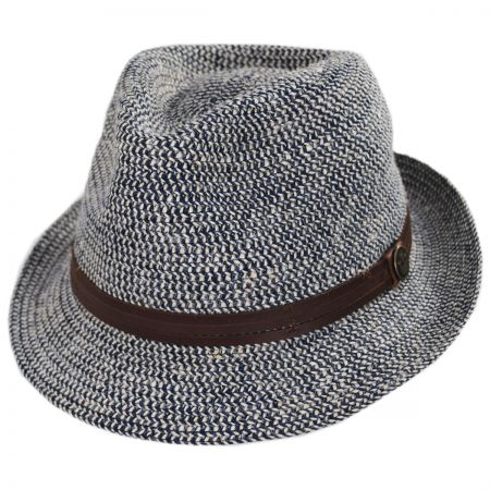 Goorin Bros Laying Low Hemp and Cotton Fedora Hat
