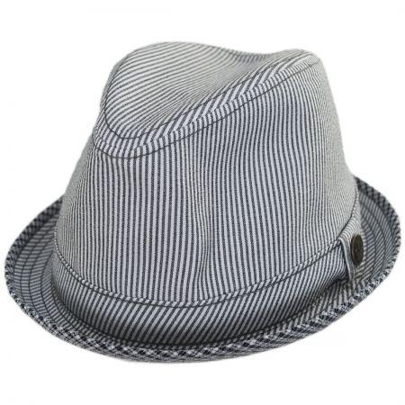 01056942a Mind Seeker Fabric Trilby Fedora Hat