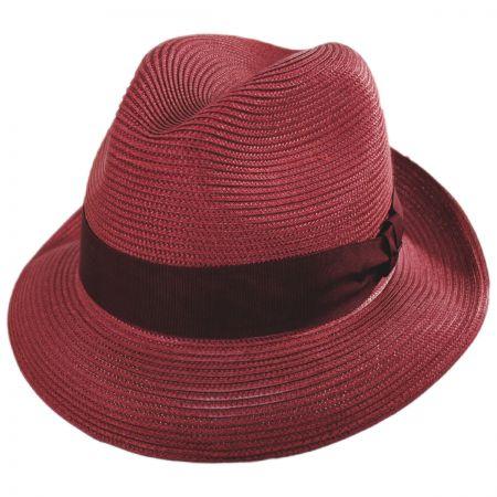 Craig Straw Fedora Hat alternate view 40