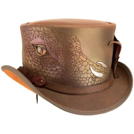 Draco Leather Top Hat alternate view 6
