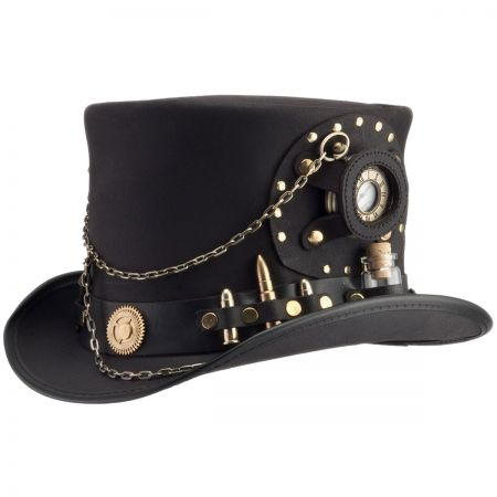 Time Port Leather Top Hat alternate view 45