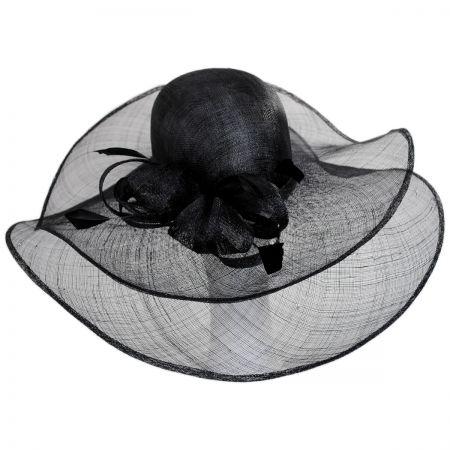 Deux Brim Straw Swinger Hat alternate view 1
