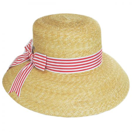 Scala Auguste Straw Lampshade Hat