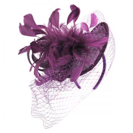 Scala Carnivale Straw Fascinator Headband