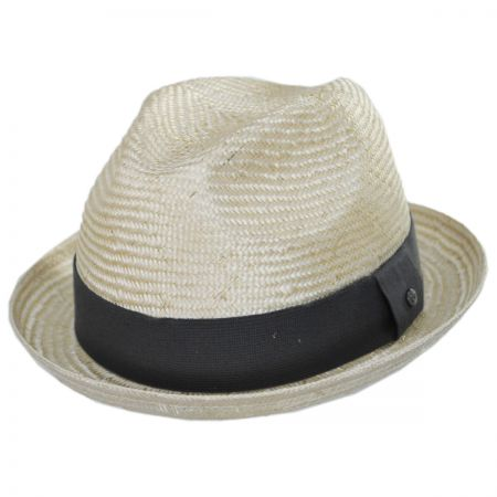 Essential Sisal Straw Trilby Fedora Hat alternate view 16