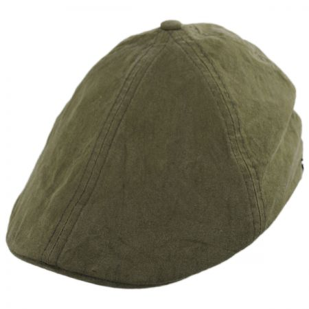 Essential Washed Cotton Duckbill Ivy Cap