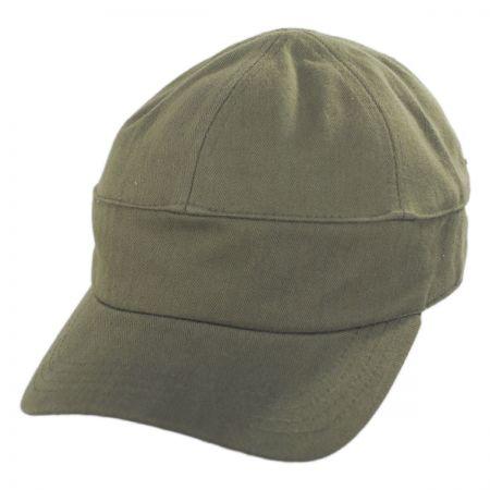 Herringbone Military Cap alternate view 1
