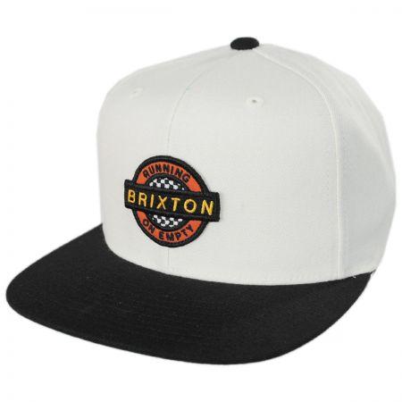 Brixton Hats Speedway Snapback Baseball Cap