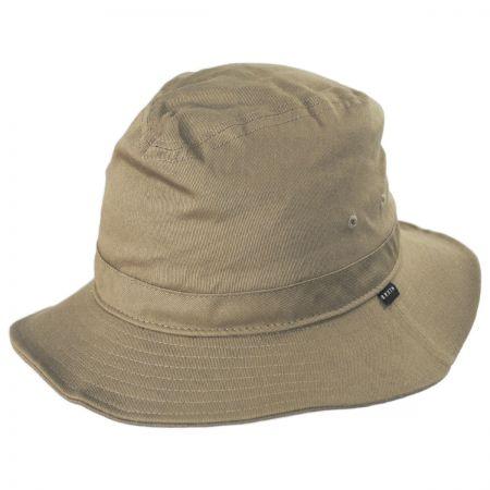 Brixton Hats Ronson Cotton Packable Fedora Hat