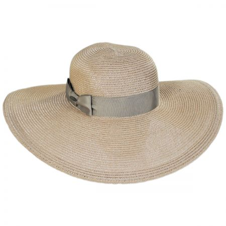 Resort Straw Swinger Wide Brim Hat alternate view 5
