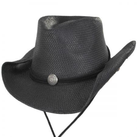 Chincord Toyo Straw Western Hat alternate view 9