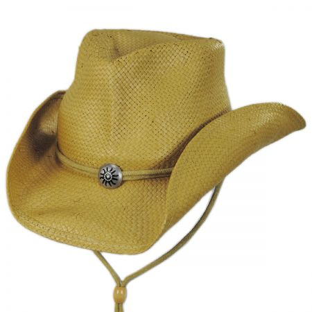 Chincord Toyo Straw Western Hat alternate view 5